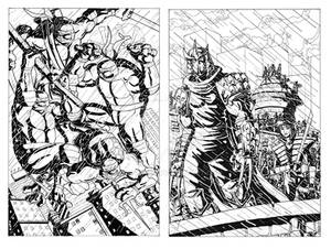 TMNT vs. Shredder and his Foot Clan