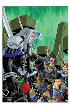 Final Fantasy Dissidia: Sephiroth