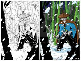 Usagi Yojimbo in the Haunted Bamboo Forest