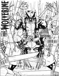 Wolverine: The Calm Before the Storm sketch cover