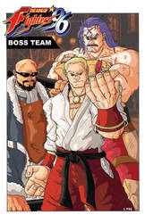 KOF 20th Anniversary - The Boss Team by Marvin000