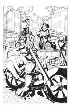 Judge Dredd in Mega City One