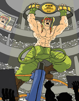 The FGE Project: Alex ( Street Fighter 3 )