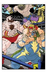 Shadowloo Showdown V - Fatal 4 Way Match by Marvin000