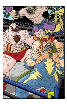 Shadowloo Showdown V - Fatal 4 Way Match