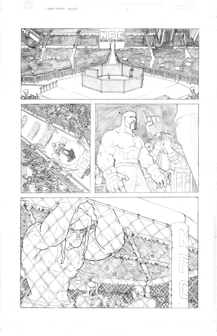 Street Fighter 3 Sample Page 1 by Marvin000