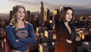 Giantess Supergirl and Alex Danvers