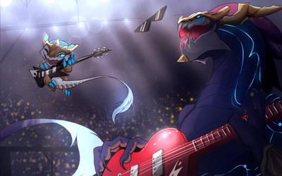 Let's Rock dear son!
