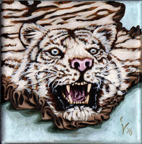 White Tiger Rug By IlseVerbeek On DeviantArt