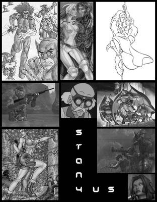 STAN4US' Self-Collage by STAN4US