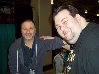 Met Greg Weisman at Comic Con Miami 2015 by STAN4US