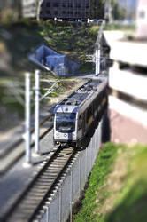 TS Train in Pasadena