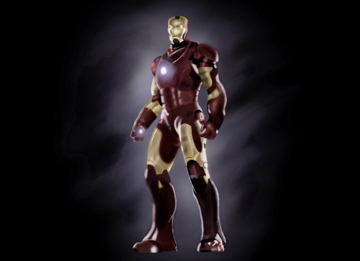 Ironman on Sketchbook Pro 2010 by TheNightForge