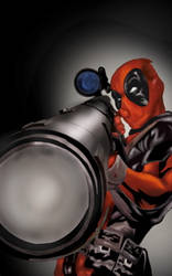 Deadpool sniper by TheNightForge