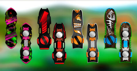 Back to the Future hoverboard concept by VaanDark