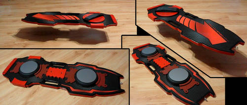 Back to the Future concept - Ren Hoverboard by VaanDark