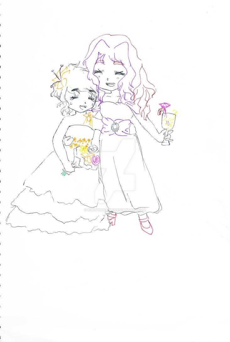 Minx and krism wedding