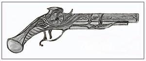 TPHB illustrations: a pistol