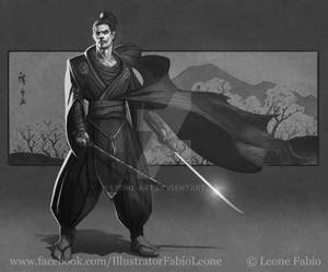 Samurai study (WIP)