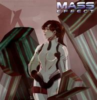 Mass Effect Andromeda - Ryder (female) by Sakurai-sanxIceland