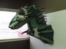 Paper Mache Sea Dragon by Lordnightbane