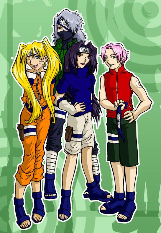 Naruto sexy clone jutsu
