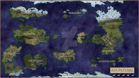 Avonterre World Atlas 2020