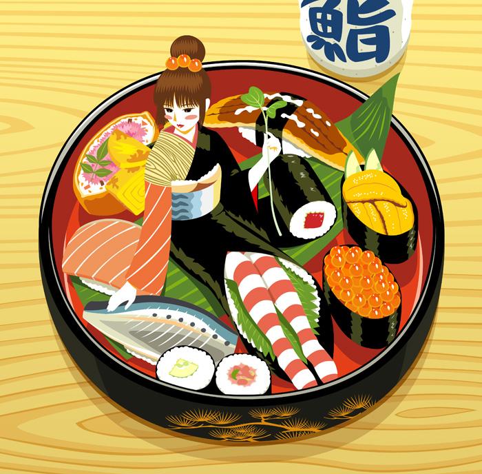 sushi by rin-sarasara