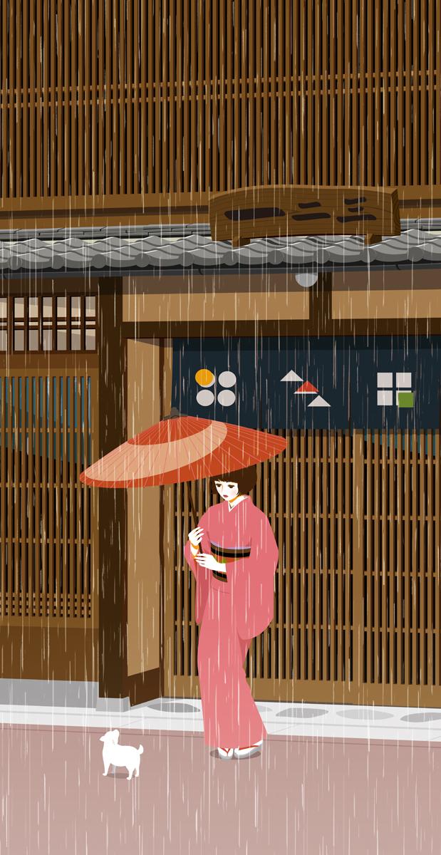 rainy day by rin-sarasara