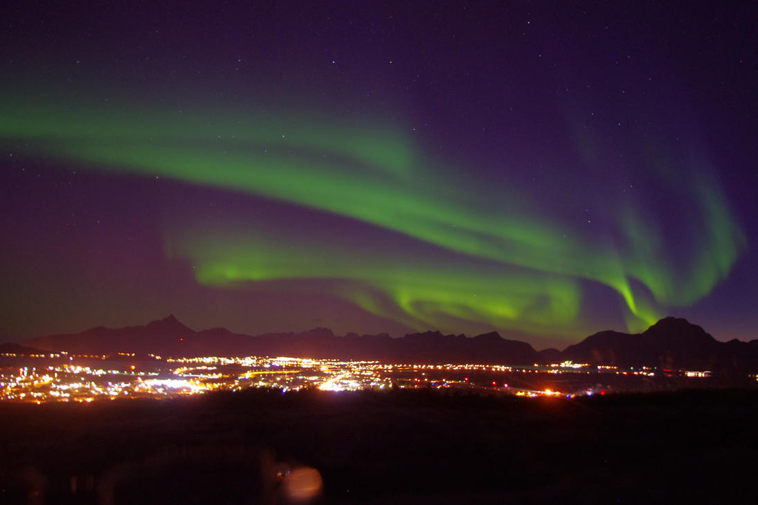 Aurora Borealis by timmsymacdragoon