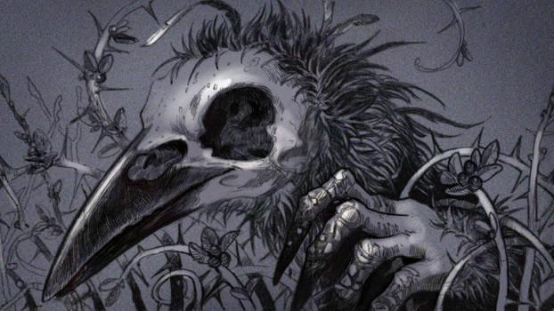 Thinking of a bird's Death