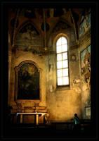 In the dark corner by MewSa