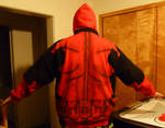 Finished Deadpool Hoodie Back