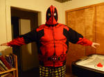 Finished Deadpool Hoodie Front