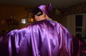 Batgirl Cape Hood Mask Test 5 by Linksliltri4ce