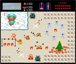 8-Bit Holiday in Hyrule by Linksliltri4ce