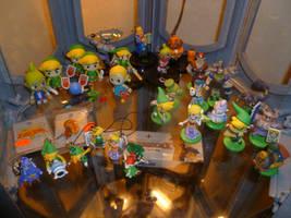 Toon-Style Zelda Figurines 2 by Linksliltri4ce