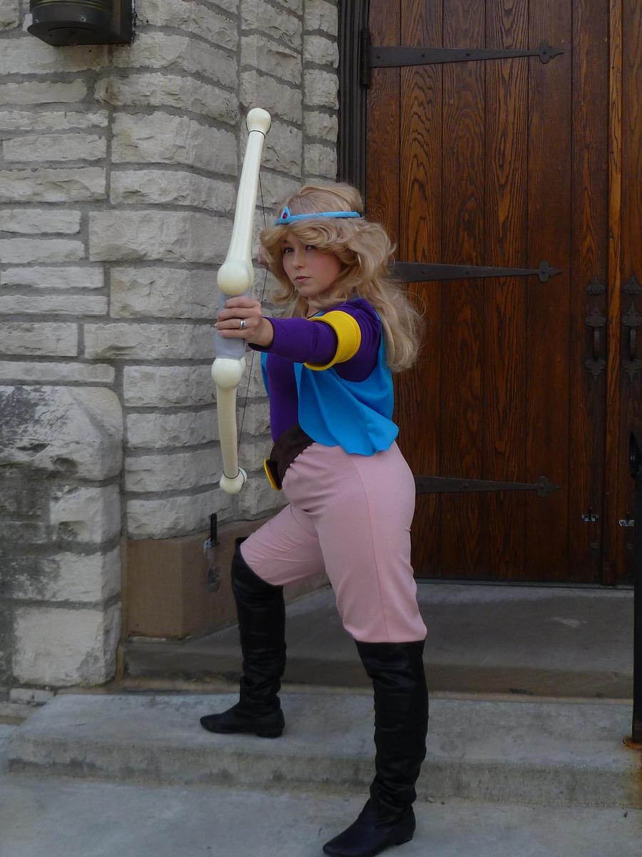 Cartoon Princess Zelda 2