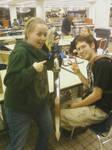 Me And Aaron of Fiberglassblades.com