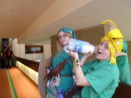 Adult Link Watches Enviously.... by Linksliltri4ce