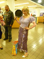 Rapunzel at Youmacon 2011 by Linksliltri4ce
