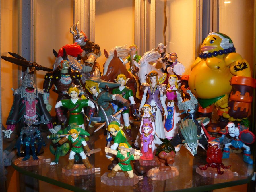 Zelda Figurines 3 by Linksliltri4ce