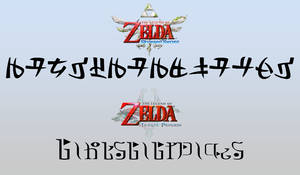 My Name in TP and SS Zelda Fonts by Linksliltri4ce