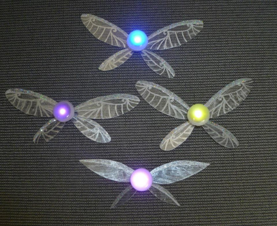 The Fairy Quartet - and Some DELUXE Wings!