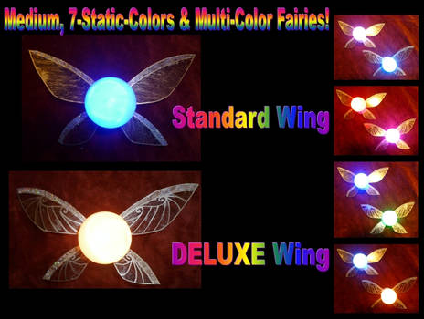 New Medium, Multi-Color Fairies for my Store!