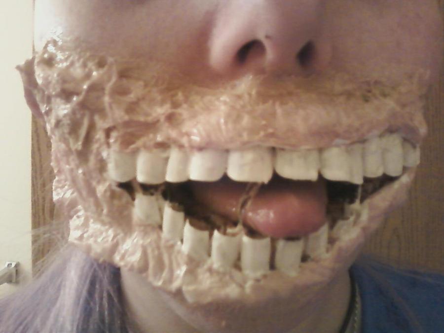 little zombie girl teeth wip by linksliltri4ce on deviantart