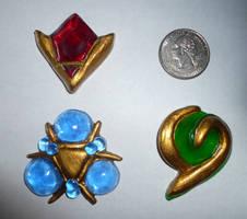 Miniature Spiritual Stone Set by Linksliltri4ce