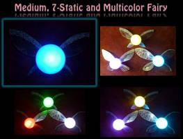 Medium Multi-Color Fairy! by Linksliltri4ce