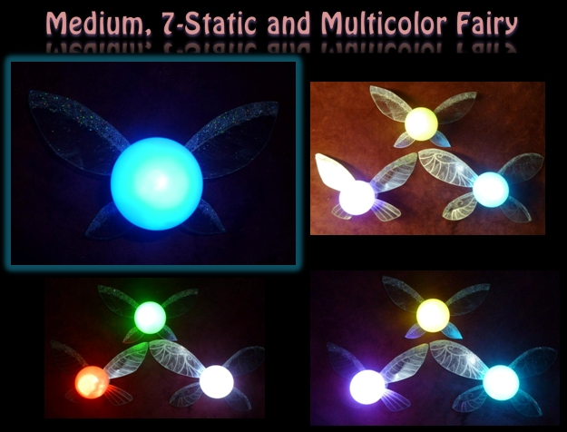 Medium Multi-Color Fairy! by Linksliltri4ce