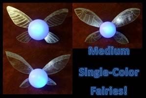 Medium Single-Color Fairies! by Linksliltri4ce